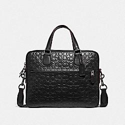 COACH F32210 Hudson 5 Bag In Signature Leather QB/BLACK