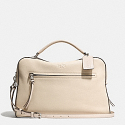 COACH BLEECKER LARGE TOASTER SATCHEL IN PEBBLE LEATHER - SVD1D - F32265