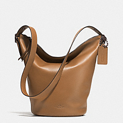 COACH F32282 - BLEECKER DUFFLE IN LEATHER  AR/BRINDLE