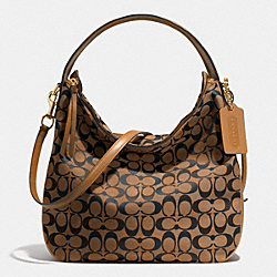 BLEECKER SULLIVAN HOBO BAG IN SIGNATURE - f32371 -  GDD1J