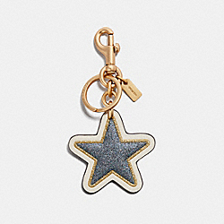 COACH F32694 - STAR BAG CHARM MULTI/GOLD