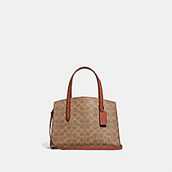 COACH F32749 - CHARLIE CARRYALL 28 IN SIGNATURE CANVAS B4/RUST