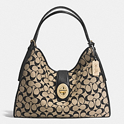 COACH F32907 - MADISON CARLYLE SHOULDER BAG IN PRINTED SIGNATURE  LID80