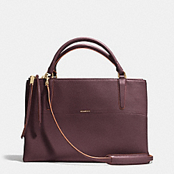 THE BOROUGH BAG IN PEBBLE EDGEPAINT LEATHER - f32912 -  GDD8Q