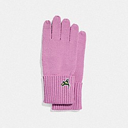 COACH F32954 - KNIT TECH REXY GLOVES ROSE