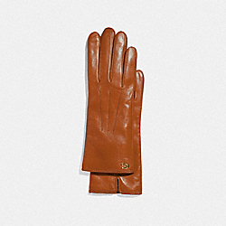 COACH F32957 - SCULPTED SIGNATURE TECH GLOVES CANYON