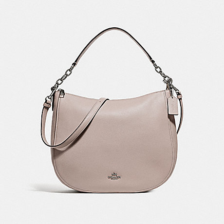 COACH f33000 CASSIDY HOBO GREY BIRCH/SILVER