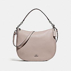 COACH F33000 - ELLE HOBO GREY BIRCH/SILVER