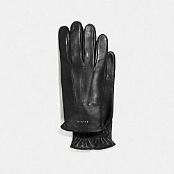 COACH F33083 - TECH NAPA GLOVES BLACK