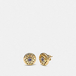 COACH F33383 Dream Catcher Stud Earrings MULTI/GOLD