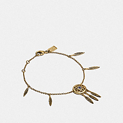 COACH F33385 - DREAM CATCHER BRACELET GD/MULTI