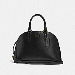 COACH F33404 - QUINN SATCHEL LI/BLACK