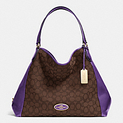 COACH F33523 - EDIE SHOULDER BAG IN SIGNATURE  LIDK7