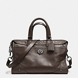 COACH F33689 Rhyder Satchel In Leather QBMIK