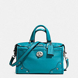COACH F33690 - RHYDER 24 SATCHEL IN LEATHER  AKTEA