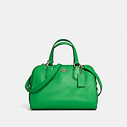 COACH F33735 - MINI NOLITA SATCHEL IN LEATHER LIGRN