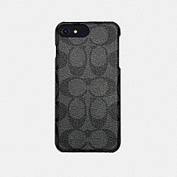 COACH F33750 Signature Phone Case GRAY