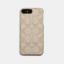 COACH F33750 Signature Iphone 7 Plus Case IVORY