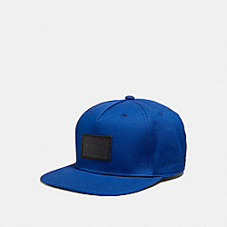 COACH F33774 Flat Brim Hat ROYAL BLUE