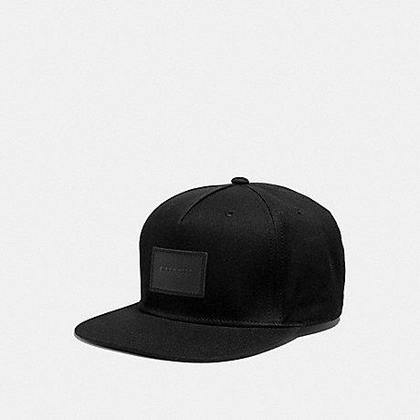 6d8217f8da2 COACH F33774 - FLAT BRIM HAT - BLACK