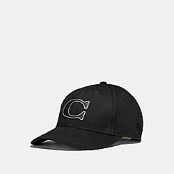 COACH F33777 Varsity C Cap BLACK