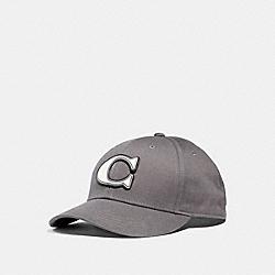 VARSITY C CAP - f33777 - CHARCOAL