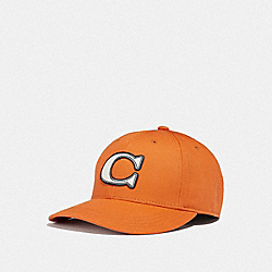 COACH F33777 - VARSITY C CAP ORANGE