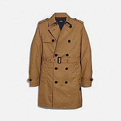 TRENCH COAT - f33778 - KHAKI
