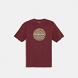 COACH F33780 - COACH SIGNATURE T-SHIRT CURRANT