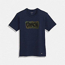 COACH T-SHIRT - F33781 - NAVY