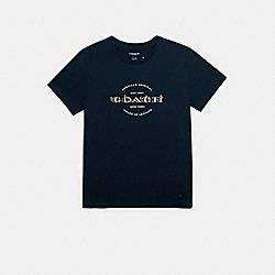 COACH F33867 - COACH T-SHIRT BRIGHT NAVY