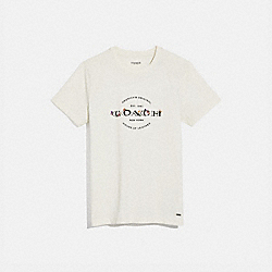 COACH F33867 Coach T-shirt WHITE