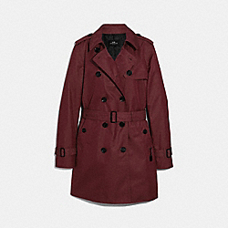COACH F34024 Trench ROSEWOOD