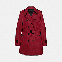 COACH F34024 Trench RUBY