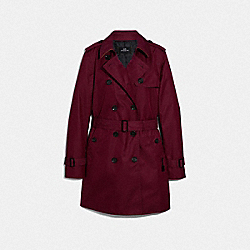 COACH F34024 Trench WINE