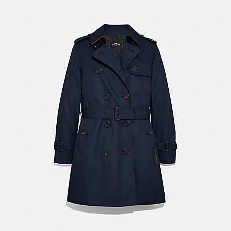 COACH TRENCH - NAVY - F34025