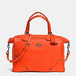 COACH F34040 Mickie Satchel In Grain Leather QBORG