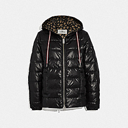 COACH F34114 Lightweight Puffer BLACK