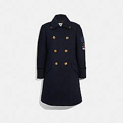 COACH F34123 Naval Coat CADET