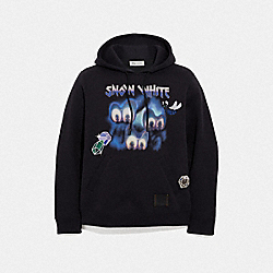 COACH F34218 - DISNEY X COACH SLEEPY HOODIE BLACK