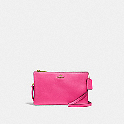 LYLA CROSSBODY - F34265 - PINK RUBY/GOLD