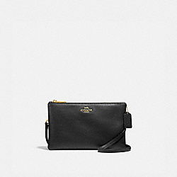 COACH F34265 - LYLA CROSSBODY BLACK/LIGHT GOLD
