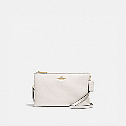 LYLA CROSSBODY - f34265 - CHALK/light gold