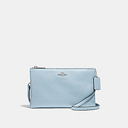 LYLA CROSSBODY - f34265 - SILVER/PALE BLUE