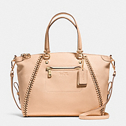 COACH F34339 - PRAIRIE SATCHEL IN WHIPLASH LEATHER LIAPR