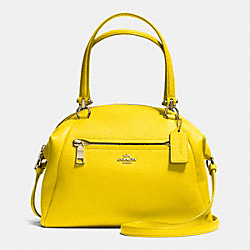 COACH F34340 Prairie Satchel In Pebble Leather LIYLW