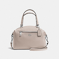 COACH F34340 Prairie Satchel GREY BIRCH/SILVER