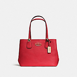 COACH F34388 - KITT CARRYALL RED/LIGHT GOLD
