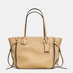 COACH F34398 Tatum Tote In Whiplash Leather QBNUD