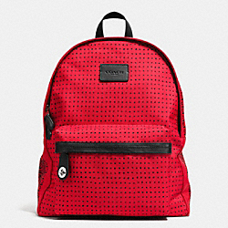 COACH F34404 Campus Backpack In Printed Canvas SVDRK